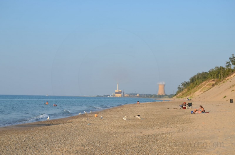 Power Plant on Beach