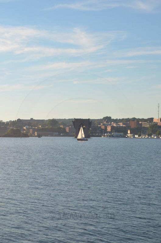 Ore Dock in Marquette, Michigan