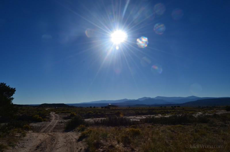 Near Espanola, New Mexico