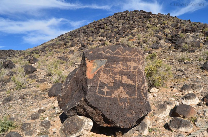 Petroglyphs National Monument in Albuquerque, New Mexico