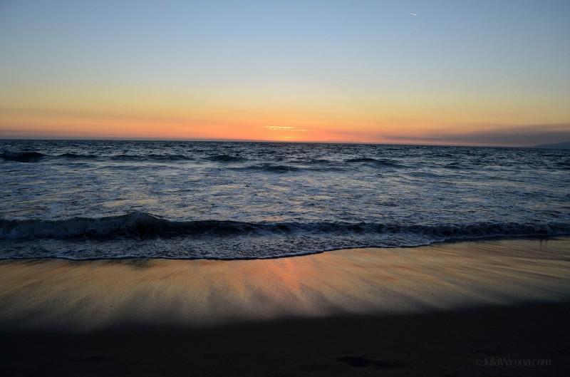 Sunset on Muscle Beach