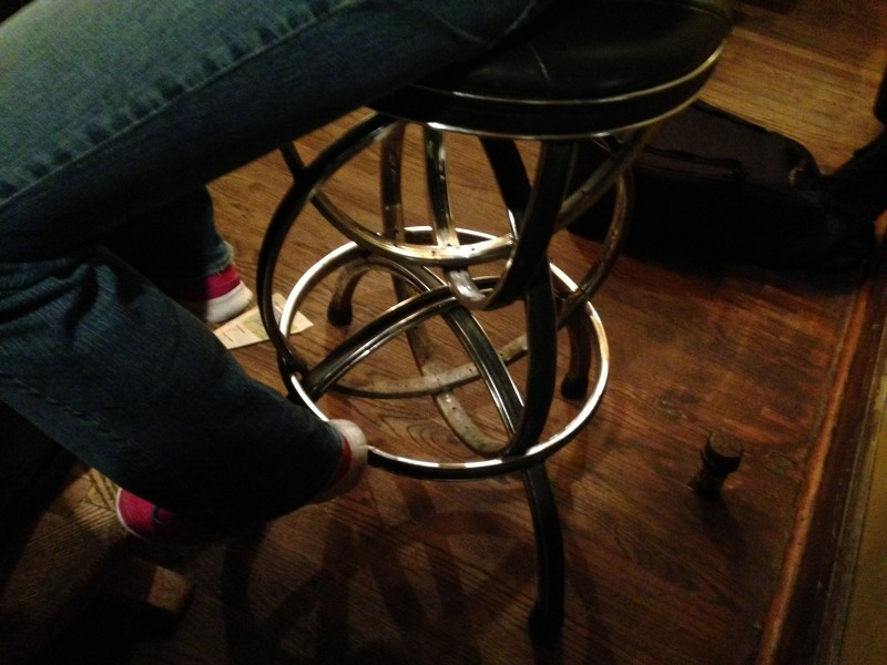 Blackrock Brewing Company, bike stools