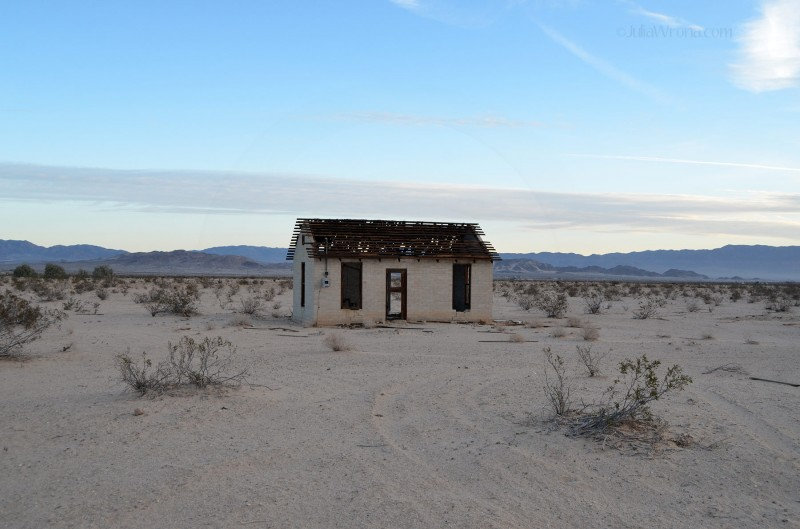 Abandoned home in the Mojave