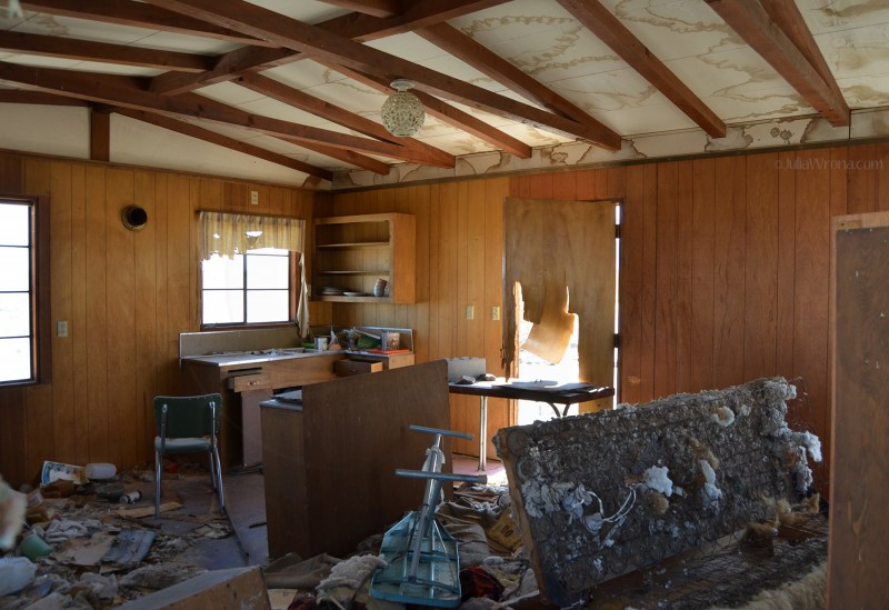 Abandoned home on the Jack Rabbit Trail
