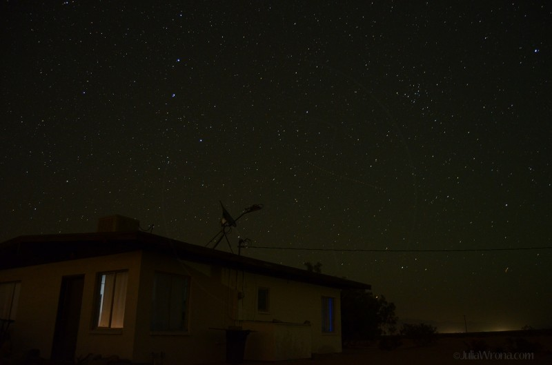 Stars in the Mojave at Night