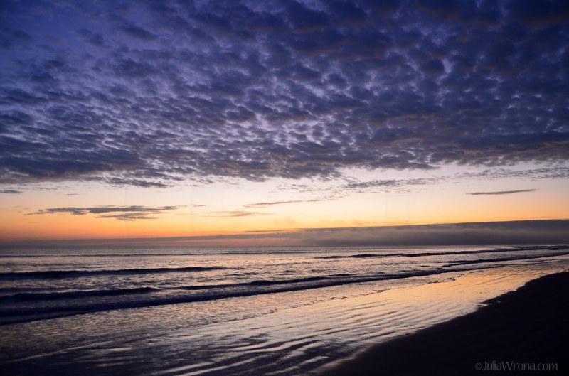 Dawn on New Symrna Beach, Florida