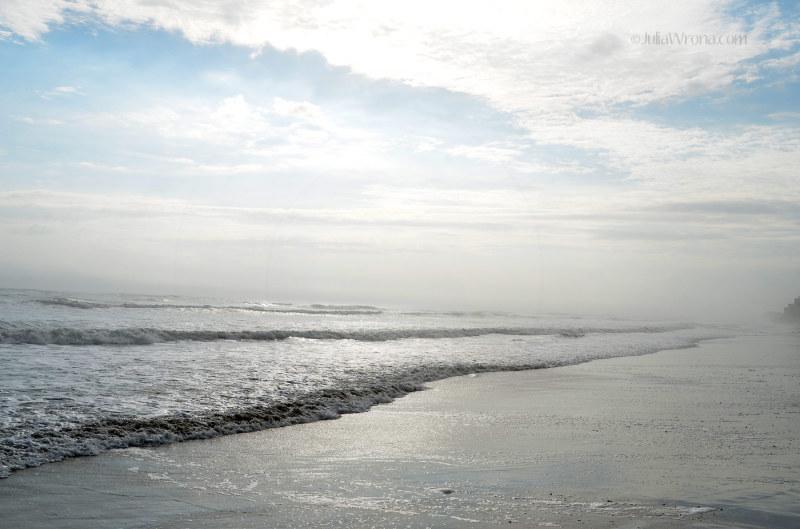 Fog on the Ocean