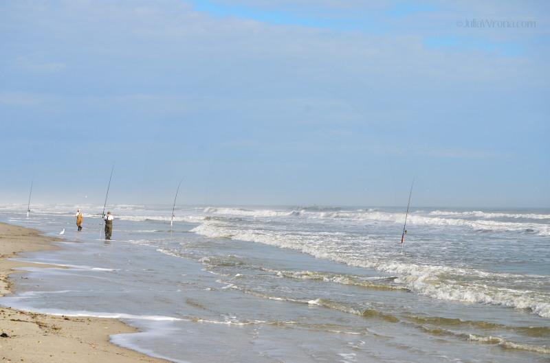 Fishermen on the Ocean