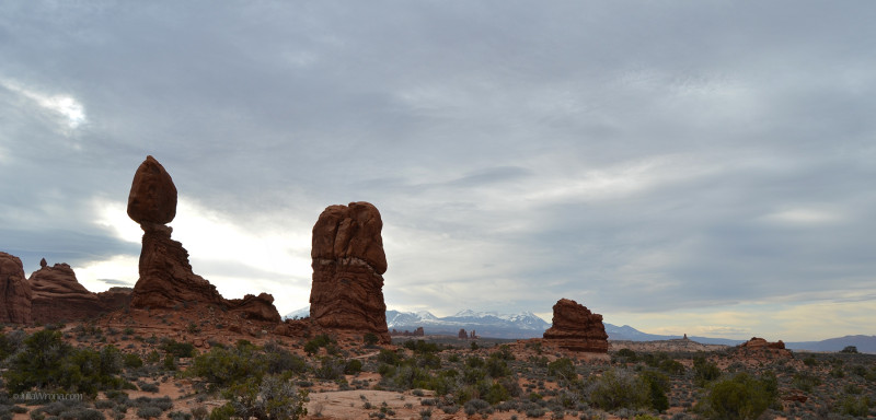 Balanced Rock at Arches National Park, Utah