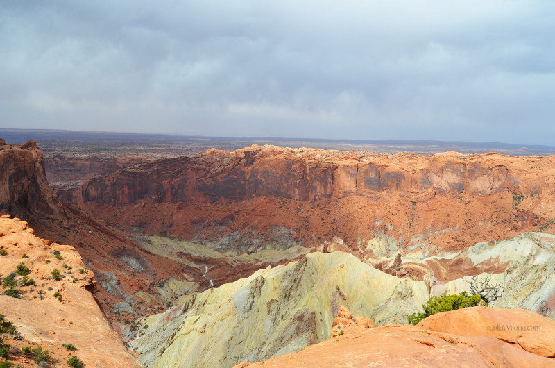 Upheaval Dome in Canyonlands National Park
