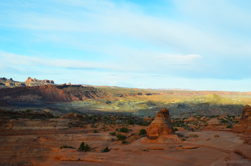 Arches National Park, Utah early morning