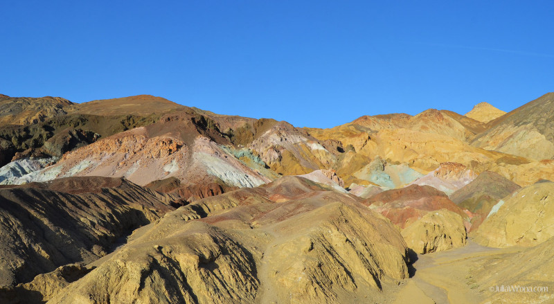 Artist Palate in Death Valley