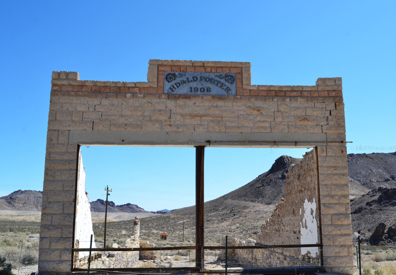 HD & LD Porter Store in Rhyolite Ghost Town