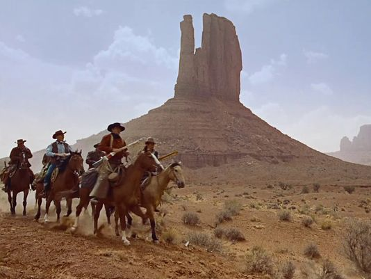 Still from The Searchers, 1956