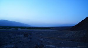 Dusk in Death Valley