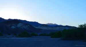 Morning in Death Valley