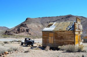 The Ghost Town of Rhyolite