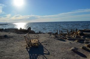 Morning in Bombay Beach