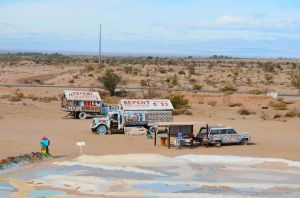 The View From Salvation Mountain