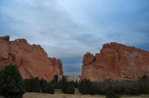 Storm Approaching Garden of the Gods