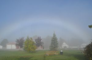Rainbow in Petoskey