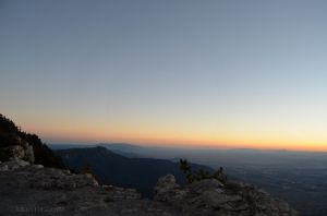 Sunset from Sandia Peak 03