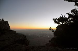 Sunset from Sandia Peak 04