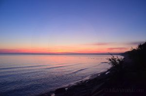 Sunrise Over Lake Superior 02