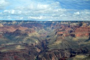 The Colorado River through Grand Canyon