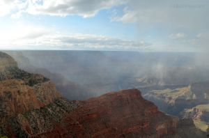 Low Clouds in Grand Canyon