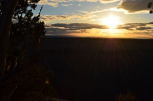 Sunset in Grand Canyon 01