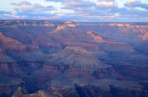 Sunset Over Grand Canyon 01