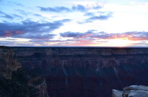 Sunset Over Grand Canyon 04
