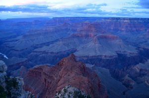 Nearing Dusk in Grand Canyon