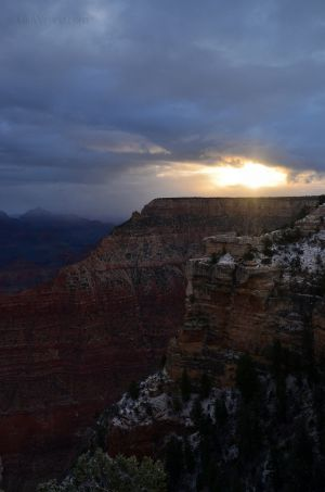 Sunrise Over Grand Canyon 02