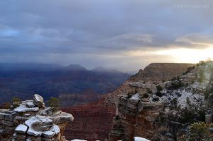 Sunrise Over Grand Canyon 03