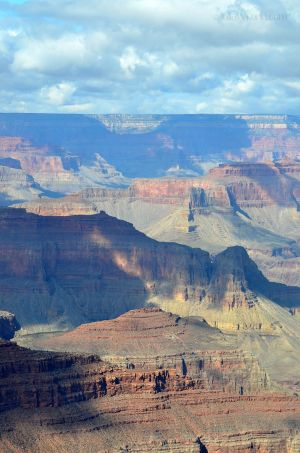 Play of Shadows on Grand Canyon