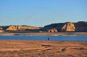 Watching the Lake Powell Sunrise
