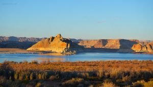 Golden Hour Over Lake Powell