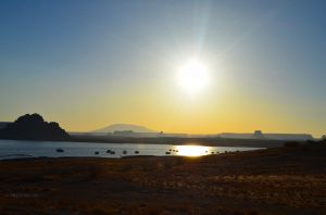 Sunrise Over Lake Powell 01