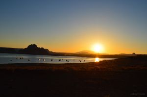 Sunrise Over Lake Powell 03