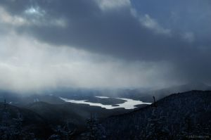 Winter Over Lake Placid
