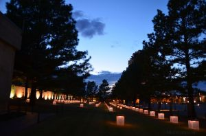 Oklahoma City Memorial at Dusk 03