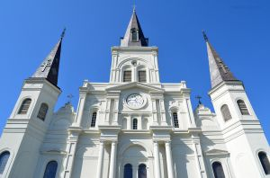 St Louis Catherdal in New Orleans