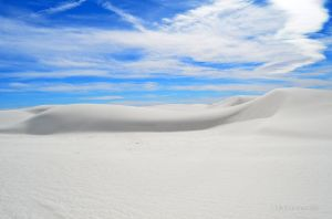 Windswept White Sand