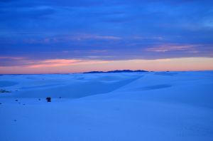 Sunset from White Sands