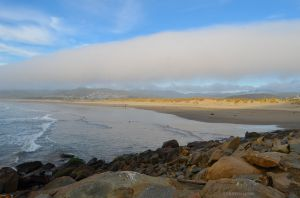 Fog Over Morro Bay