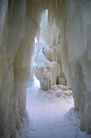 Inside the Ice Castle