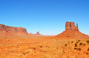 Looking out at Monument Valley
