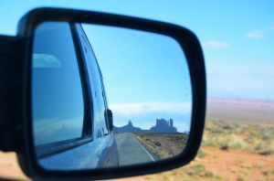 Monument Valley in the Rearview